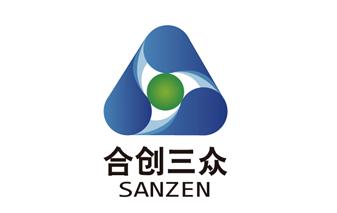 合创三众logo设计