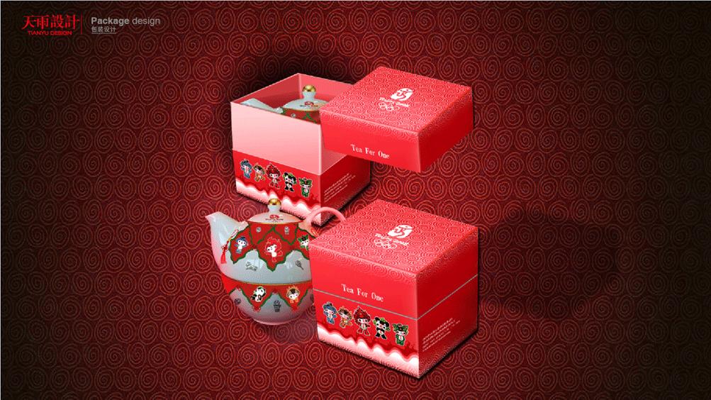 奥运会礼品包装及招商手册设计
