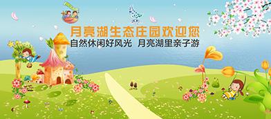 月亮湖会议广告设计