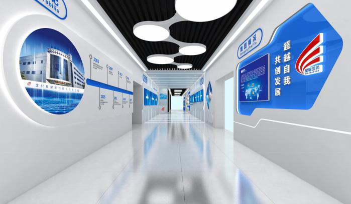 文化与科技的结合:医药展厅